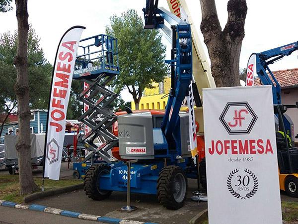 Jofemesa celebra 30 anos en la Feria de Muestras de Gijon