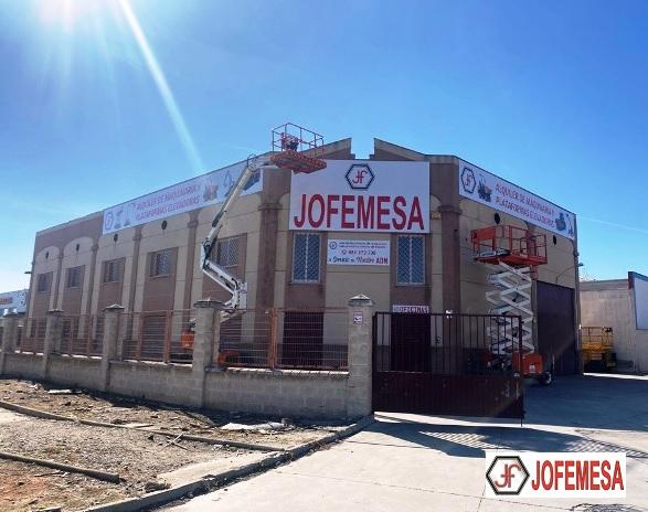 Apertura de Nueva Delegacion de JOFEMESA Alquiler de Plataformas en Malaga