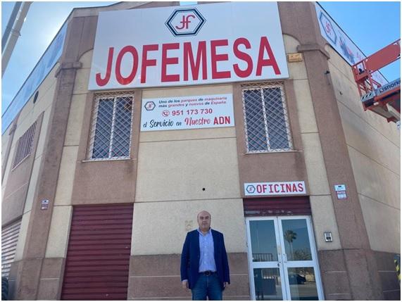 Movicarga se hace eco de nuestra nueva Delegacion Jofemesa en Malaga